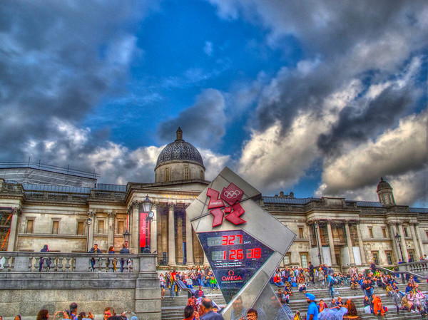 The National Gallery and the Olympic count down